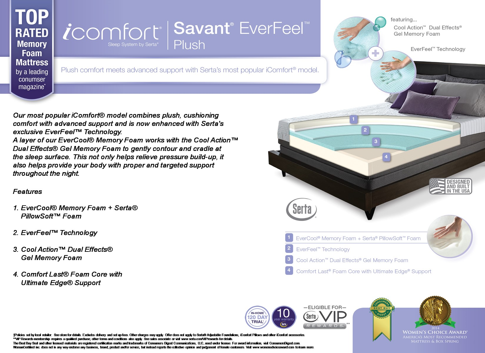 Savant Everfeel Plush